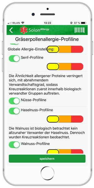 Haselnussallergie-app