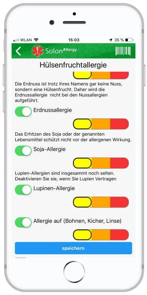 Hülsenfrüchteallergie